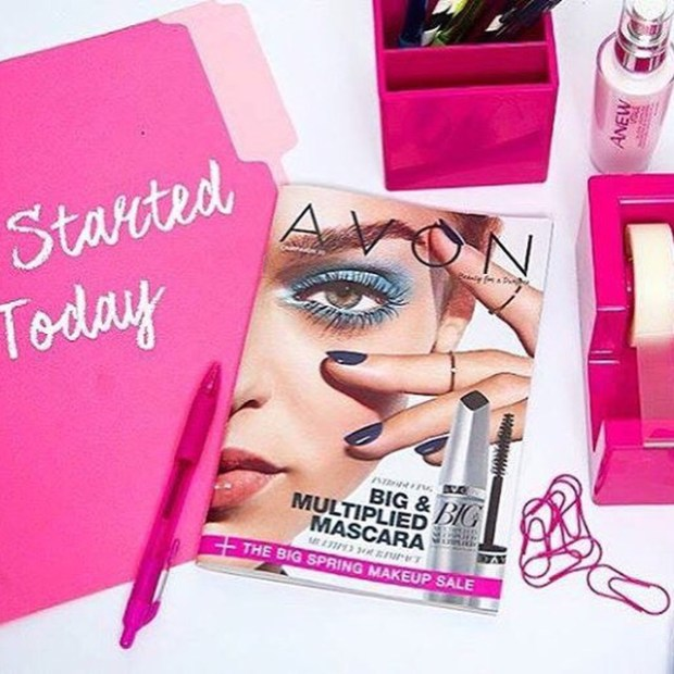 Join Avon on line