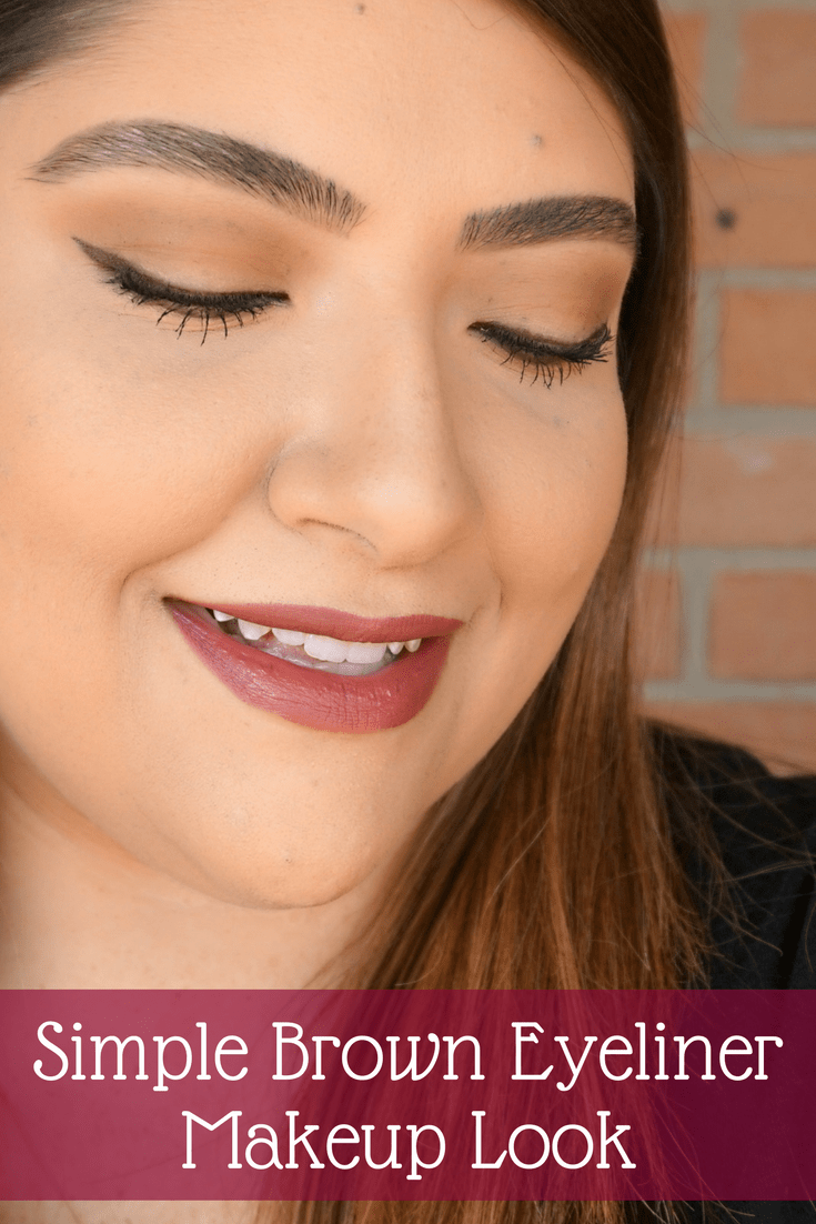 Brown Makeup Brushes: Brown Makeup Look - Beauty With Lily