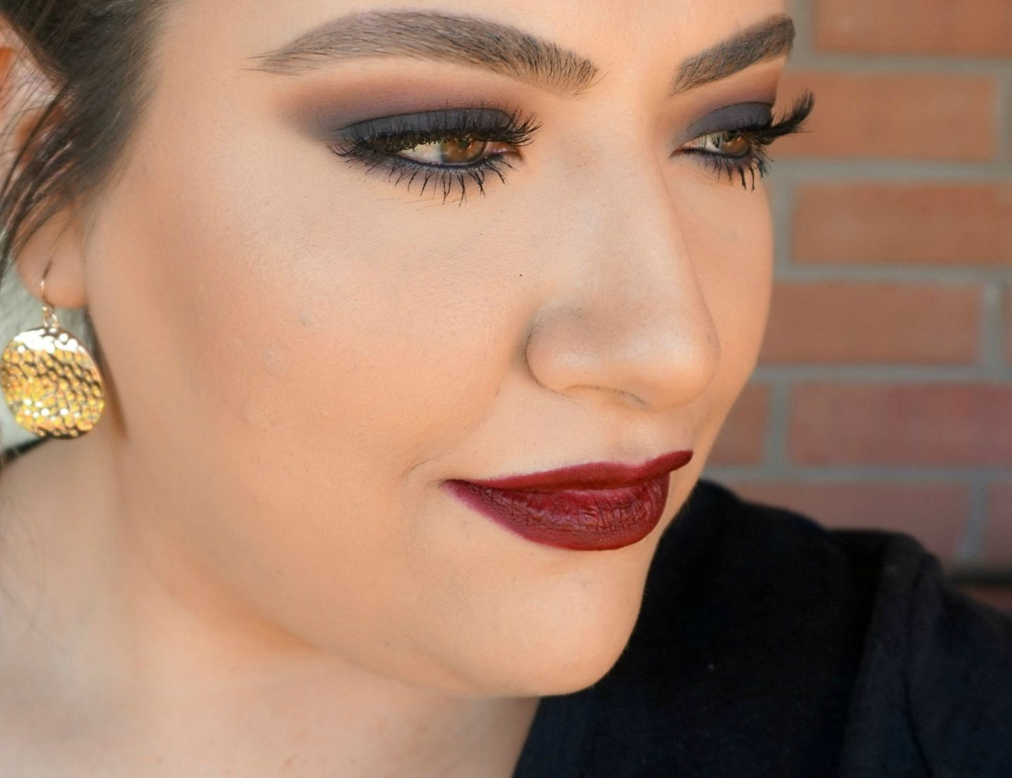 Easy Fall Burgundy Makeup Look // Fall Makeup Look   Beauty With Lily - A West Texas Beauty, Fashion & Lifestyle Blog