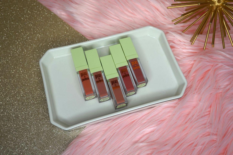 Pixi MatteLast Liquid Lipstick | Budge Proof Lipsticks | Beauty With Lily #beautyblogger #pixibeauty #beautywithlily