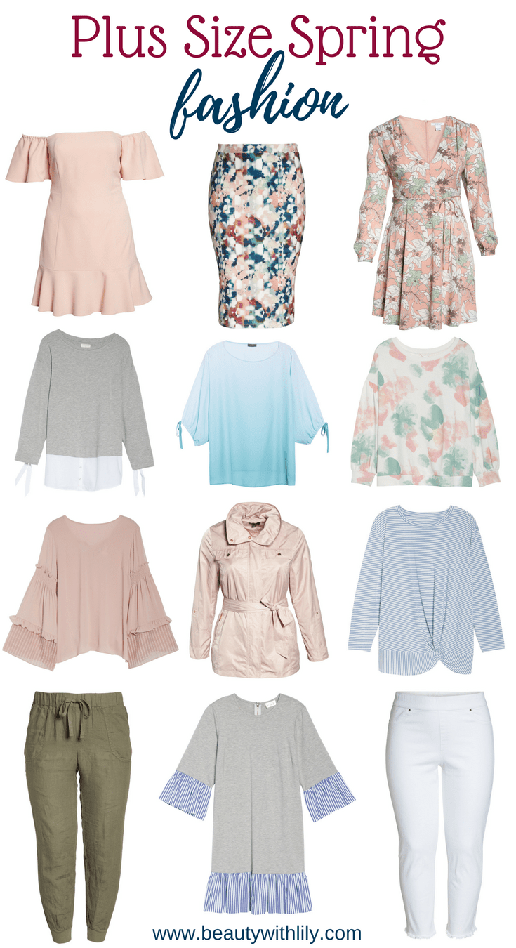 Romantic Spring Fashion // Plus Size Spring Outfits // Plus Size Fashion | Beauty With Lily #plussizefashion #springfashion #fashionblogger