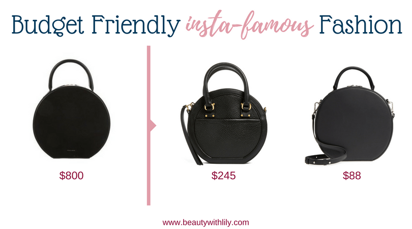Budget Friendly Insta-Famous Fashion Pieces // High-End Dupes // High-End Knockoffs // Fashion Dupes // Affordable Circle Bags | Beauty With Lily