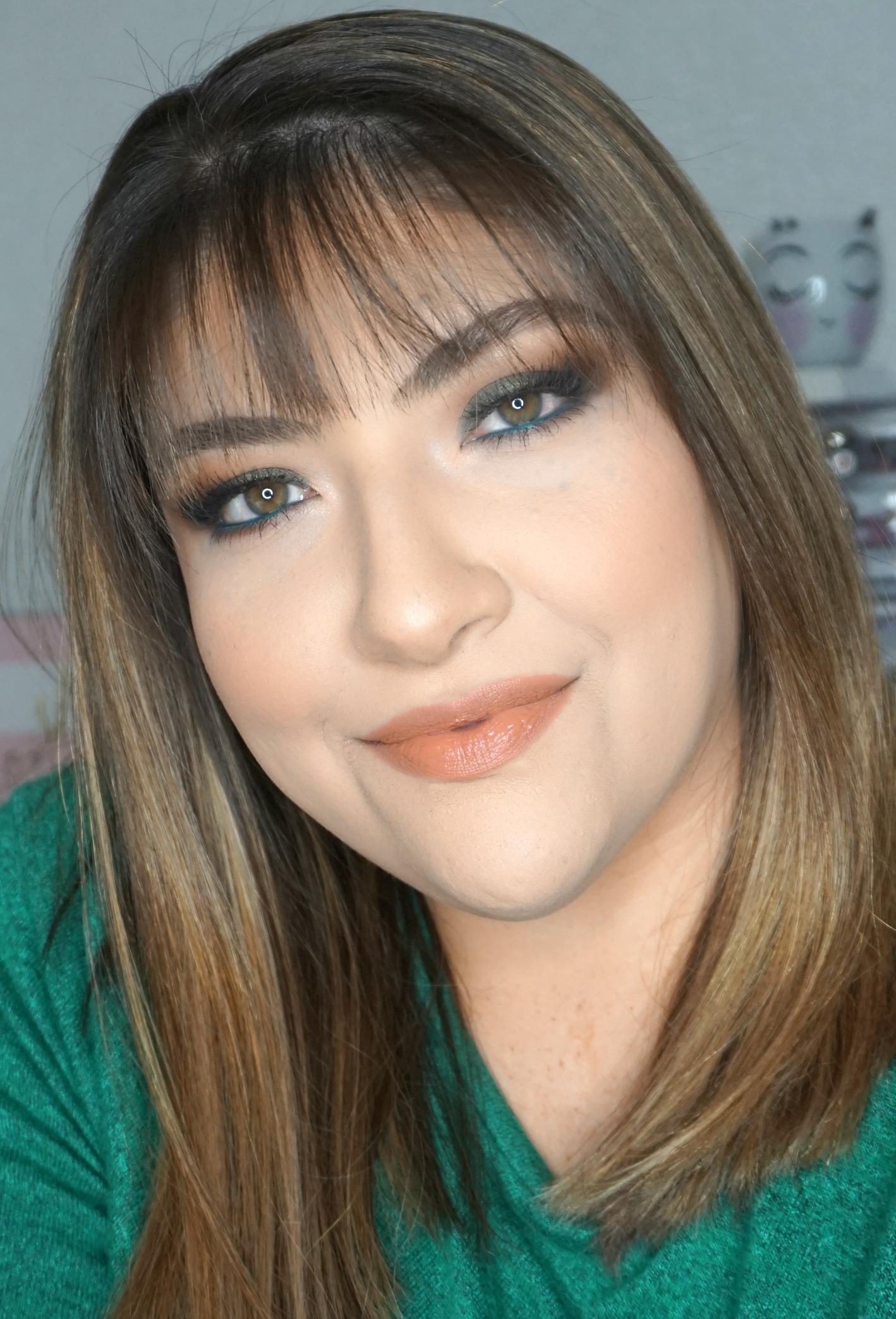 Olive Eye Look // Fall Makeup Look // Nude Lips // Smokey Eye // Easy Makeup | Beauty With Lily