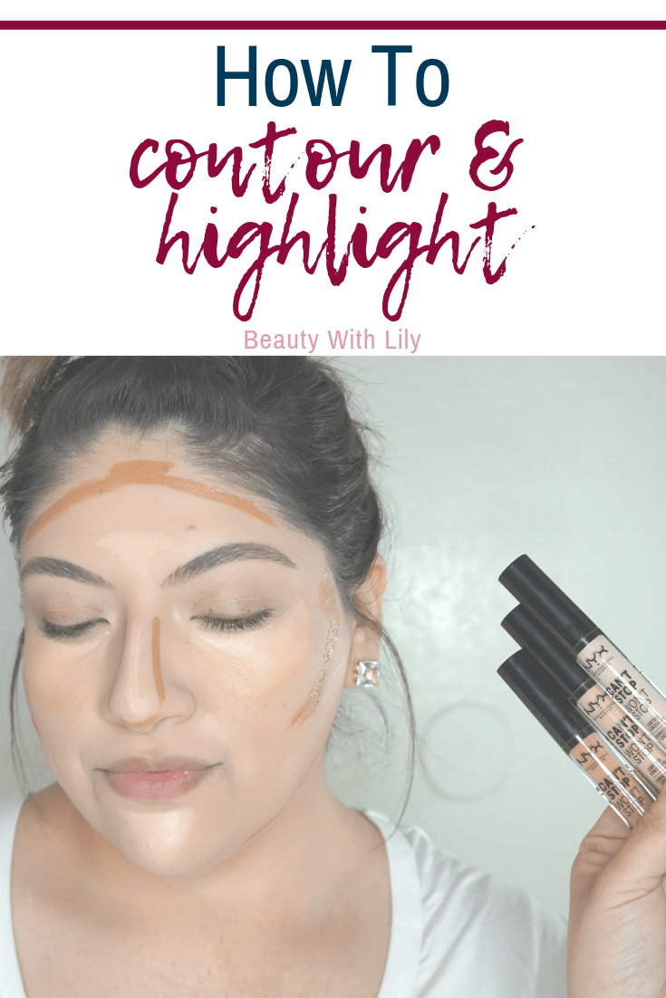 How To Contour & Highlight // Highlight & Contour Tips // Liquid Contouring // Concealer Tips & Tricks   Beauty With Lily