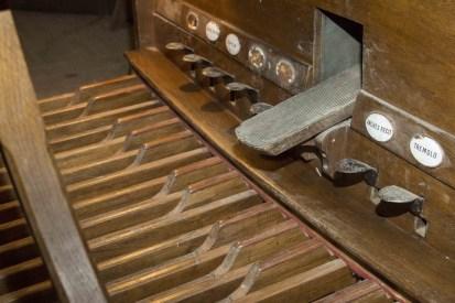 orgues - pédalier