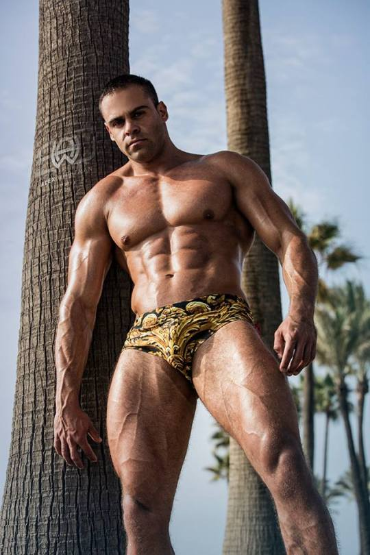 shot of Alexander Pauwels wearing trunks by DannyMiami