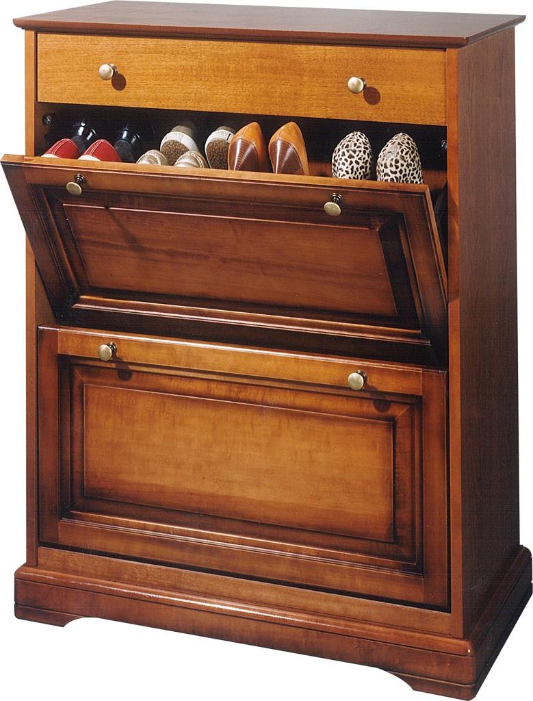 meuble a chaussures merisier louis philippe beaux meubles pas chers