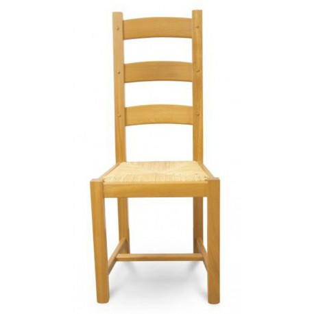 chaises chene clair assise paille chene massif