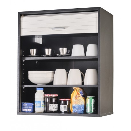 meuble cuisine noir bicolore 60 cm h 72 cm beaux meubles pas chers