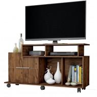 meuble tv 120 cm 2 portes chene noyer meuble tv 120 cm 2 portes chene noyer