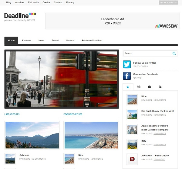 deadline-theme-wordpress-premium