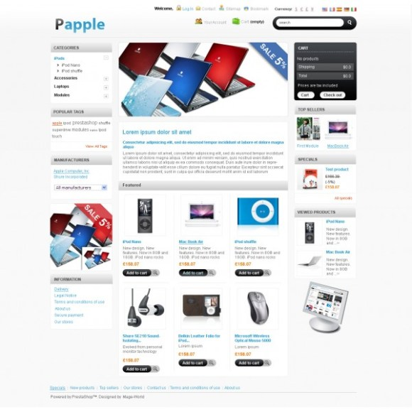 papple-theme-prestashop-gratuit