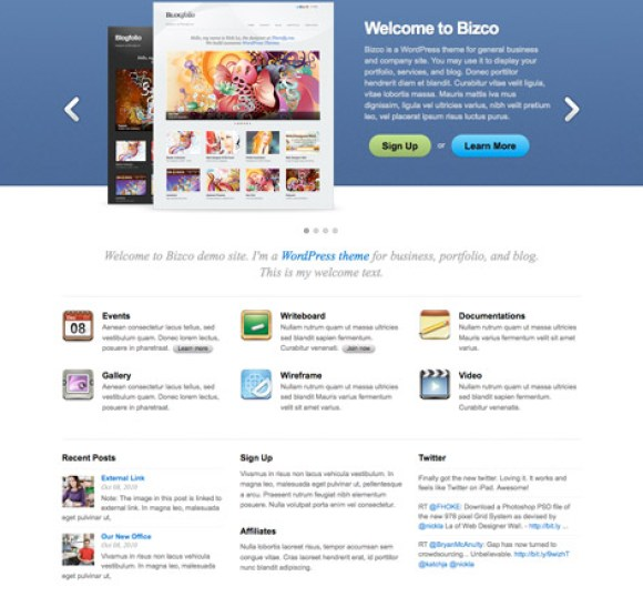 bizco-theme-wordpress-premium