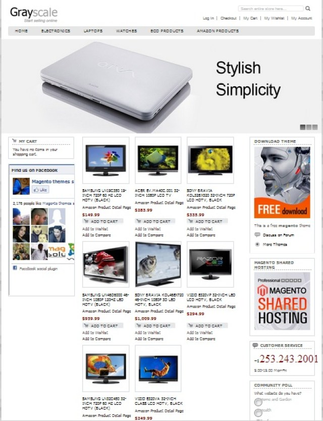 grayscale-free-magento-theme