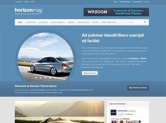 horizon-theme-wordpress-premium