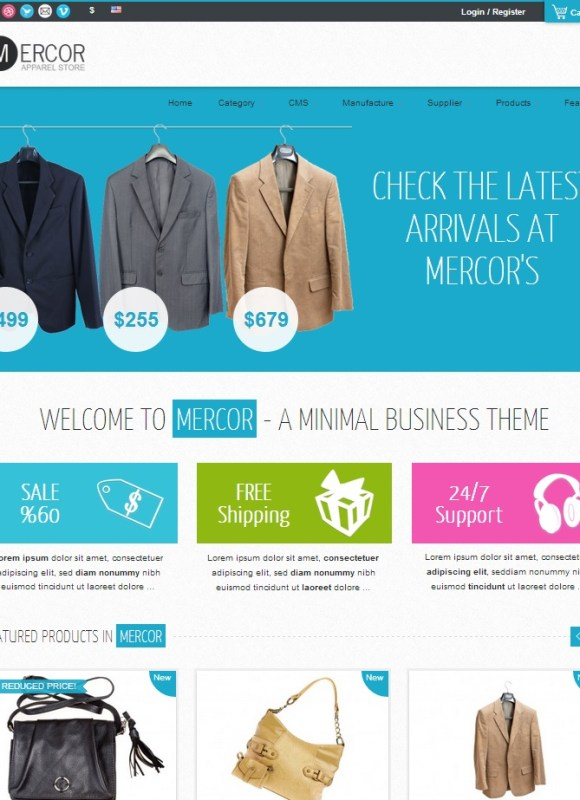 mercor-theme-prestashop-premium