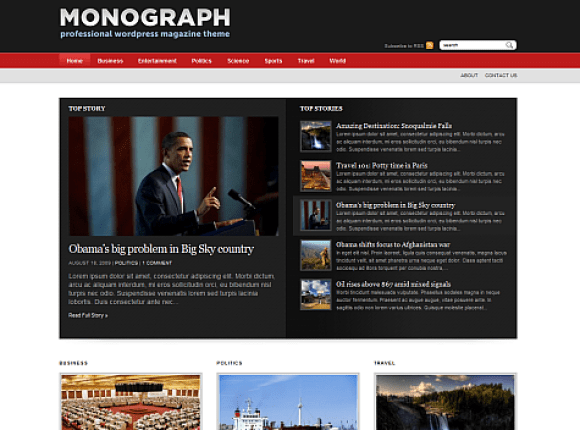 monograph-theme-wordpress-premium