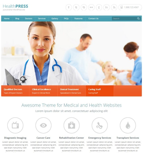 healthpress-theme-wordpress-sante