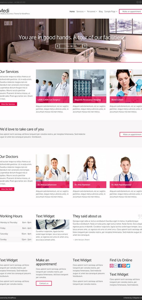 medi-theme-wordpress-site-medical-pharmacie-clinique