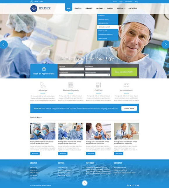 wecare-theme-wordpress-site-medical-pharmacie-clinique