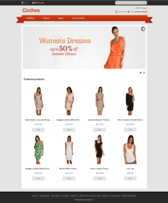 apparel-theme-prestashop-habits-gratuit