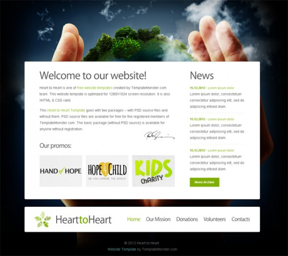 hearttoheart-template-html-gratuit-charite