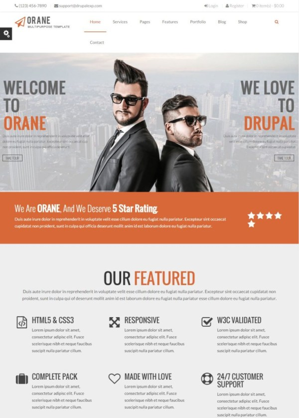 orane-theme-drupal-business-entreprise