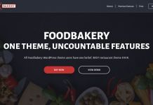 thème wordpress foodbakery