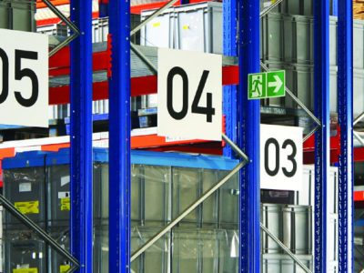 Warehouse Rack Signs