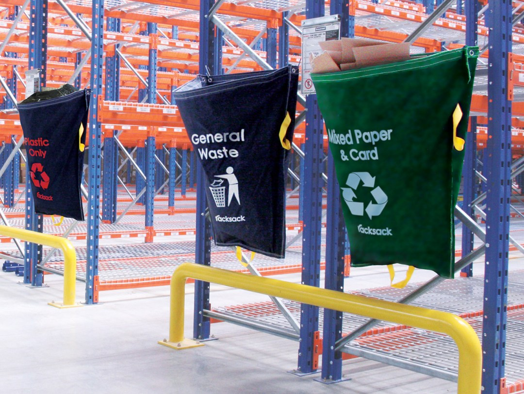 Racksack Warehouse Recycling - one of our innovative products