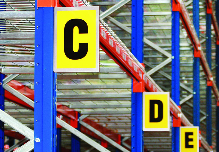 Racking Labelling are key aisle markers for warehouses