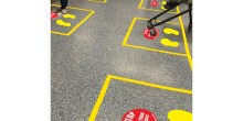 Social Distance floor marking