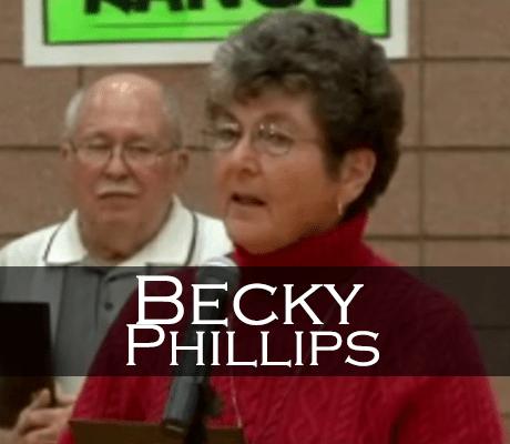 Becky Phillips Induction Speech