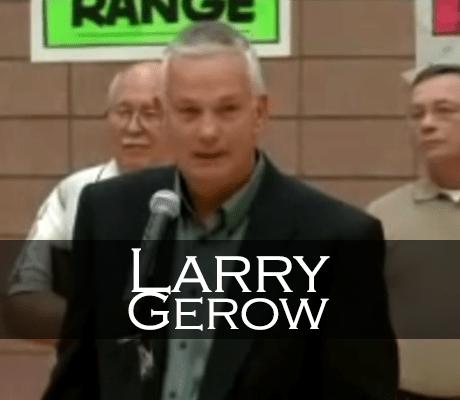 Larry Gerow Induction Speech