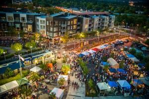 04 Beaverton Night Market_aerial