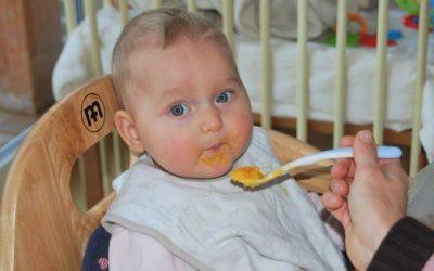 Bébé à 8 mois : L'alimentation de Bébé