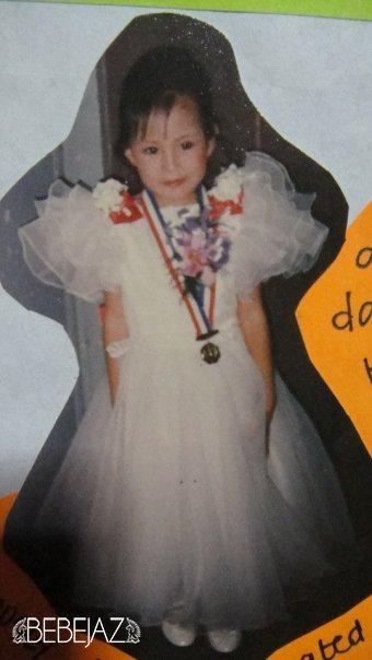 Bebejaz on Kindergarten graduation day (guessing it's is in 1991)