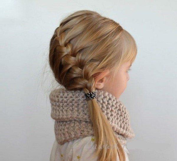 Penteados de festa para meninas