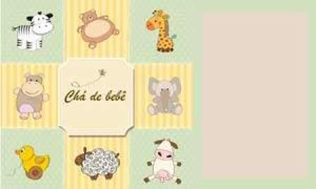 chá de bebê safari