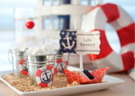 chá de bebê marinheiro modelo 8