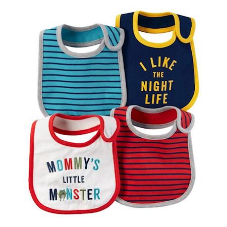 acessórios para bebê babador