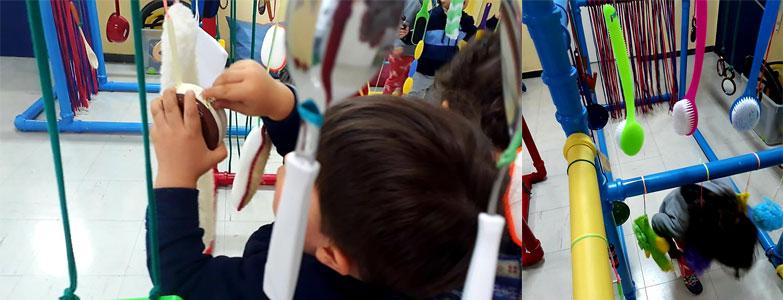 building escola atividades sensoriais