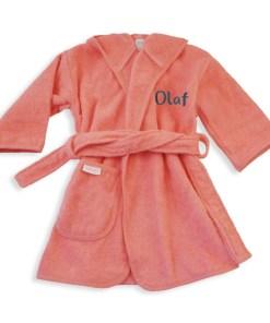 Badjas met naam geborduurd
