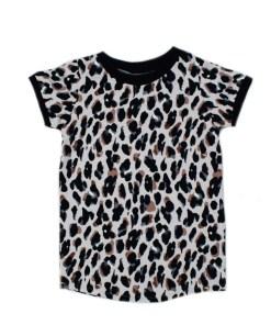 T-Shirt jurkje leopard