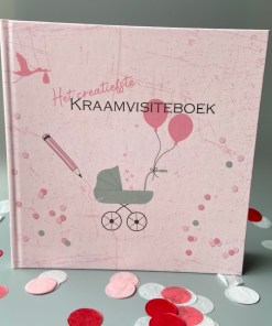 Kraambezoekboek invulboek