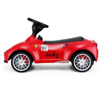 Ferrari loopauto met naam