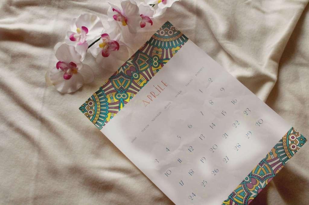 calendario Aprile