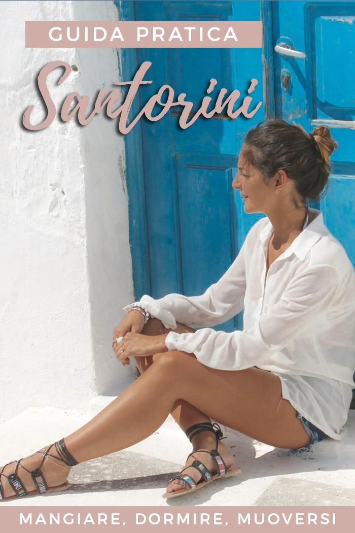 Santorini: piccola Guida di Viaggio