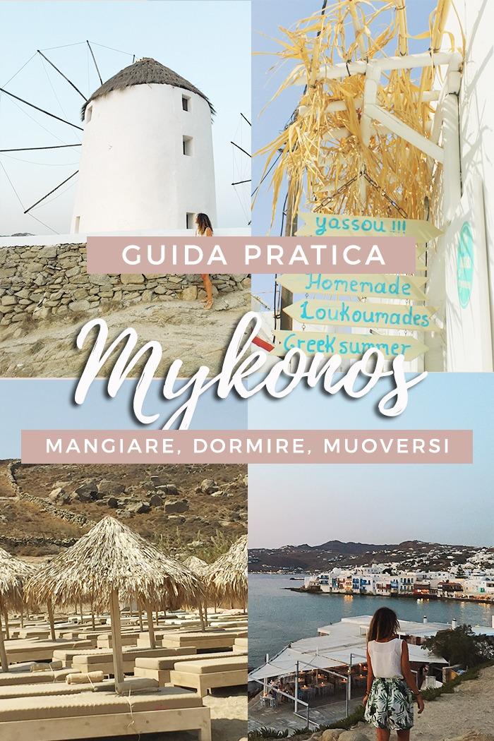 Guida pratica a Mykonos: cibo, viaggi e trasporto