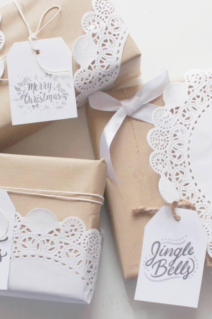 pacchetti-regalo natalizi- diy per pacchetti romantici e originali